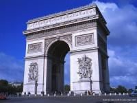 Arch of Triumph(Arc de Triomphe), Paris, France
