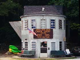 Building Shaped Like Coffee Pot, Lexington, Virginia, American Culture