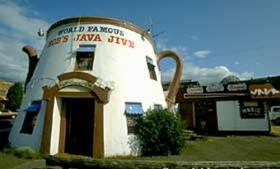 Coffee-Pot-Shaped Night Club, Tacoma, Washington