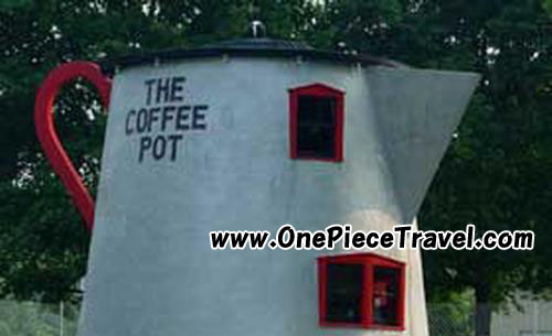 Coffee Pot-shaped Building, Bedford, Pennsylvania