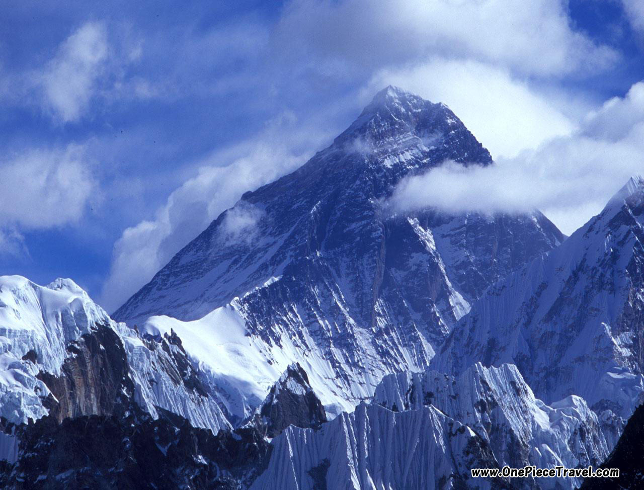 Everest is the highest mountain on Earth