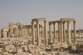 Palmyra(City in the Sand), Syrian Desert