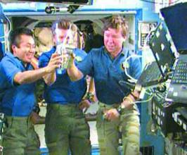 Drink up: Space station recycling urine to water