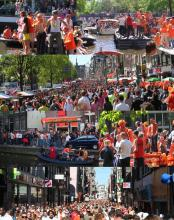 Queens Day in Holland(Netherlands)