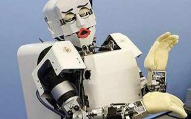 A robot displaying human emotion has been unveiled