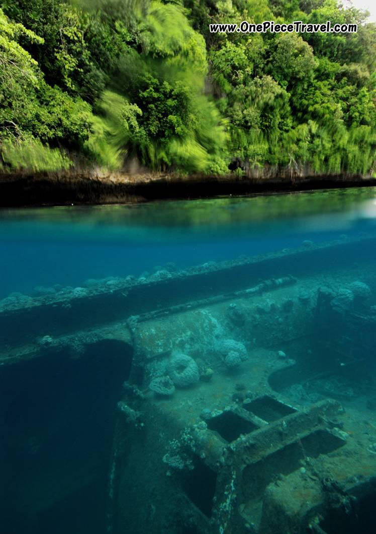 Palau attractions
