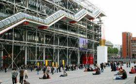 Pompidou Centre, Paris, French
